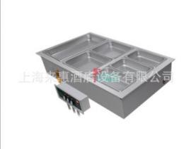 美国赫高三联嵌入式保温汤池(带去水/自动上水)Hatco HWBI-3MA