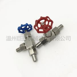 厂家直销J24W针型阀不锈钢针型阀角式截止阀角式针形阀角阀
