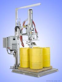 化工液体四桶位200升自动灌装机