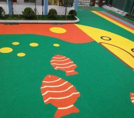 宜兴室外塑胶运动场地-宜兴室外塑胶儿童游乐场地