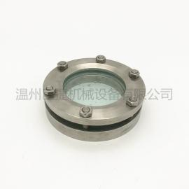 DN50-DN150不锈钢法兰视镜 罐顶法兰视镜 不锈钢视镜