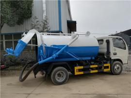 全密封罐式/箱式污泥自卸车图片-5吨5方污泥自卸运输车厂家报价