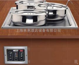 Hatco RCTHW-1 3KW 长方型蒸煮保温汤锅(台上型)