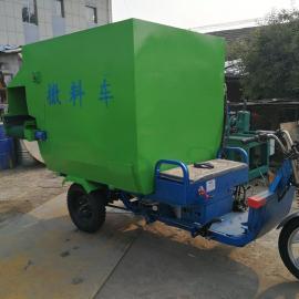 柴油机款撒料车厂家直销 圣泰牌多功能双向撒料车作用