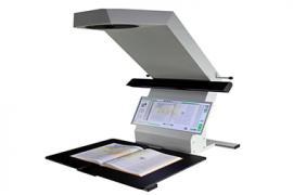 超A3幅面is3300非接触式书刊扫描仪不拆卷扫描