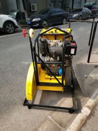 桥梁切割机 手扶式路面切割机 柴油切缝机HS-450D