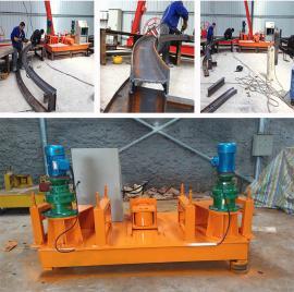 矿用WXH250工字钢冷弯机 隧道型钢拱架加工机