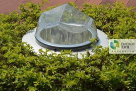 正能量科技光导照明系统实现无电照明