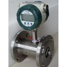 LWGY液体涡轮流量计 水纯水管道式智能传感器柴油脉冲定量控制仪
