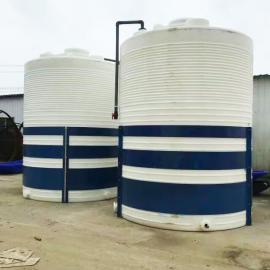 厂家直销30吨塑料储罐30立方滚塑水箱水产养殖用塑料水塔