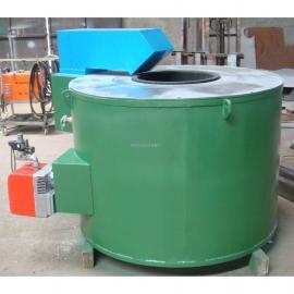 燃气熔铝炉 坩埚天然气熔化炉GR300KG 400KG 万 能佳