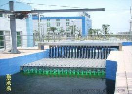 过流式紫外线杀菌器明渠式紫外线消毒器 市政污水处理厂专用排架