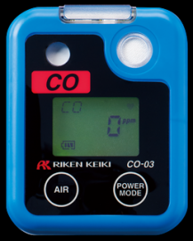 日本理研CO-03便携式一氧化碳检测仪的使用