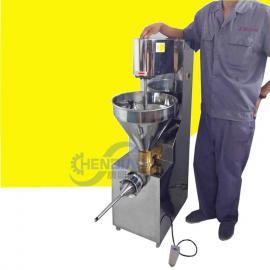 不锈钢自动灌肠机 广式腊肠灌肠机