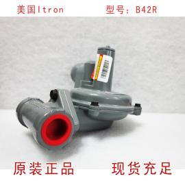 美国ITRON调压器B42R煤气调压阀 B42R天然气减压阀
