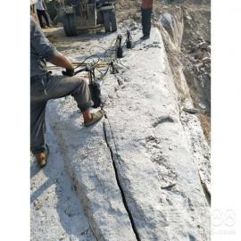 大劈力液压岩石劈裂机