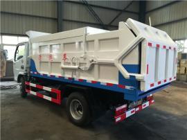 污泥挂桶运输车-3吨4吨密封式挂桶垃圾车-4立方提桶污泥车厂报价