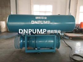 宽阔水域取水用浮筒式轴流泵