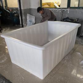 厂家直销食品级方桶2500L泡瓷砖专用箱加厚耐用大容量周转箱