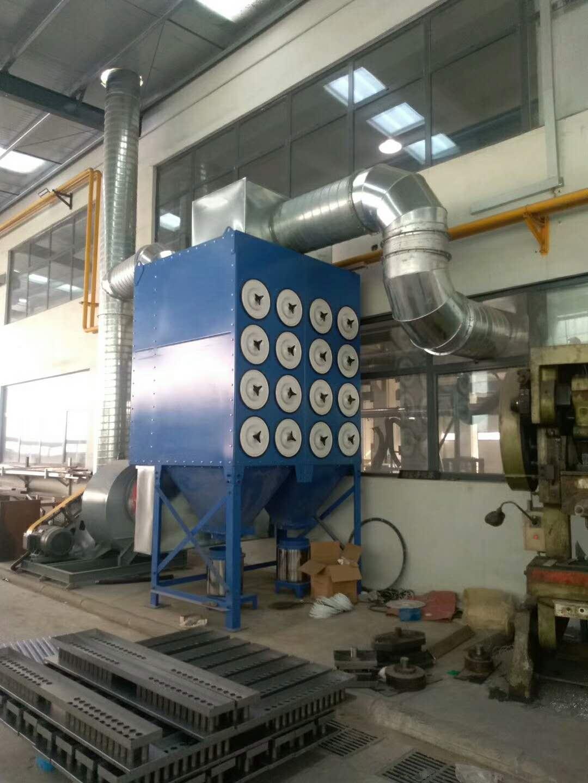 厂家生产 滤筒式除尘器 自动清灰工业除尘设备