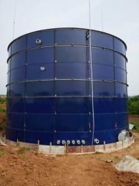 大型沼气设备搪瓷拼装罐存储罐污水罐厌氧罐