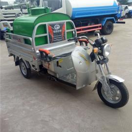 市镇环卫绿化的洒水车
