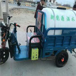 电动柴油洒水车除尘车环卫三轮洒水车