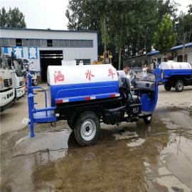 马路 公路降尘洒水车 小型洒水车