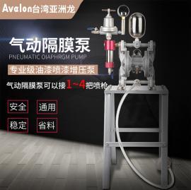 气动油漆隔膜泵 抽涂料泵 喷枪供漆泵 耐酸碱腐蚀油泵