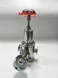 卫生级304不锈钢手动减压阀,制药级高压手动减压阀生产厂家