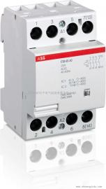 ABB建筑用接触器ESB20-20接线方法