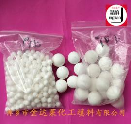 MH多孔瓷球 微孔氧化铝球 精填牌化工填料