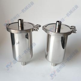 5英寸内丝管道过滤器 不锈钢直通式管道过滤器 不锈钢气体过滤器