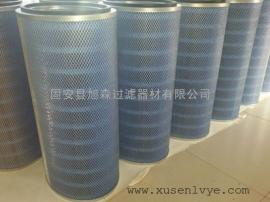阻燃空气滤筒 蓝色阻燃除尘滤筒 激光切割机除尘滤芯