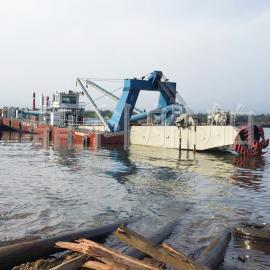 大型清淤挖泥船 鼎科绞吸式挖泥船 城市河道疏浚挖泥船设备