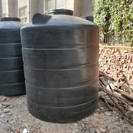 2吨pe水箱食品级加厚塑料储罐户外黑色避光蓄水罐定制款