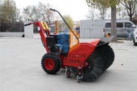 扫雪机抛雪机汽油机厂家直销 小型自走式扫雪抛雪机