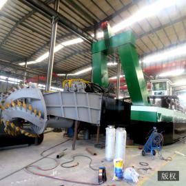 新型河道挖泥船施工 绞吸式抽泥沙船 清淤船定制 鼎科厂家挖泥船