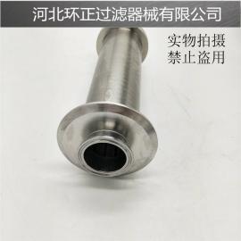 带螺纹口不锈钢楔形管滤芯 高精度20微米纯园筛筒 机械配件定做