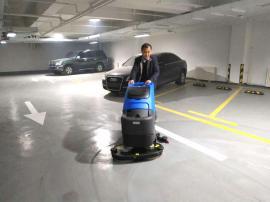 仓库拖地机 容恩R70BT全自动手推式洗地机