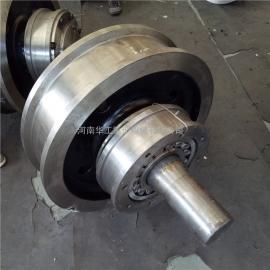 专业生产科尼Φ320主动车轮组 欧式起重机轨道轮 欧式端梁车轮