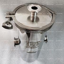 卫生级气水分离器 洁净型汽水分离器 CS10快装汽水分离器
