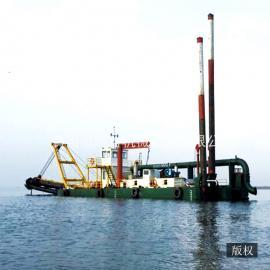 鼎科18寸绞吸式挖泥船 大型台车式绞吸船 性价比高 挖泥船厂家