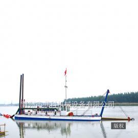 10寸绞吸式挖泥船 内河河道清淤船 水库扩容绞吸船厂家现货