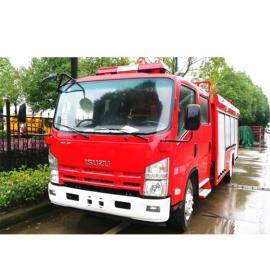 五十铃3-4吨泡沫消防车