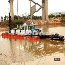 60方整体式挖泥船 小型绞吸式吸污船 鼎科*设计生产挖泥船