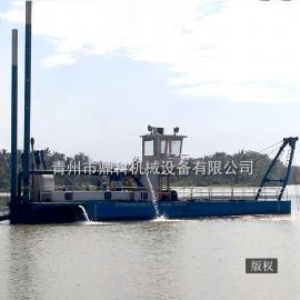 绞吸式采矿船选矿船设备出口 鼎科专业挖泥船绞吸船生产厂家