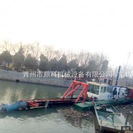 鼎科小型绞吸式挖泥船 湖泊小型清淤船 专业挖泥船制造厂