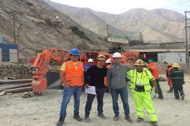 鑫通挖掘式装载机再次服务于秘鲁南部金矿