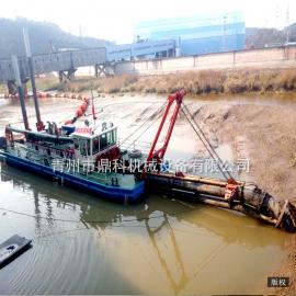 风景区台车式清淤挖泥船 内河环保绞吸船 绞刀式机械挖泥船定制